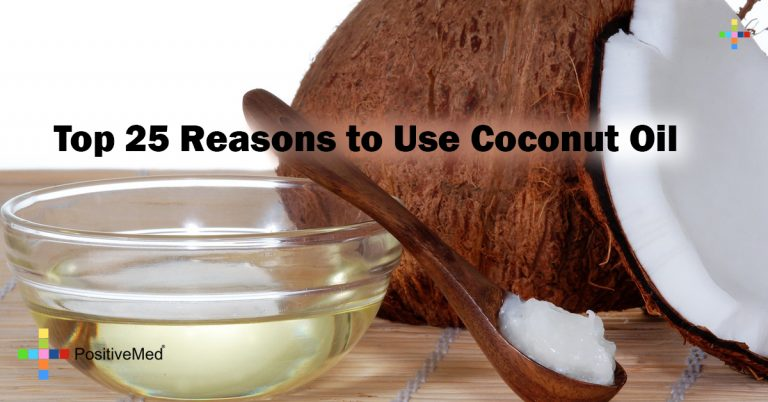 Top 25 Reasons to Use Coconut Oil