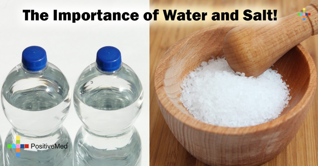 The Importance of Water and Salt!