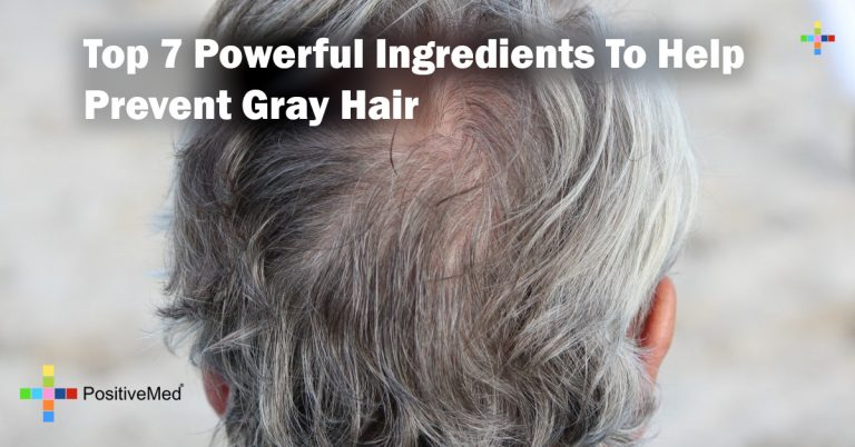 Top 7 Powerful Ingredients To Help Prevent Gray Hair
