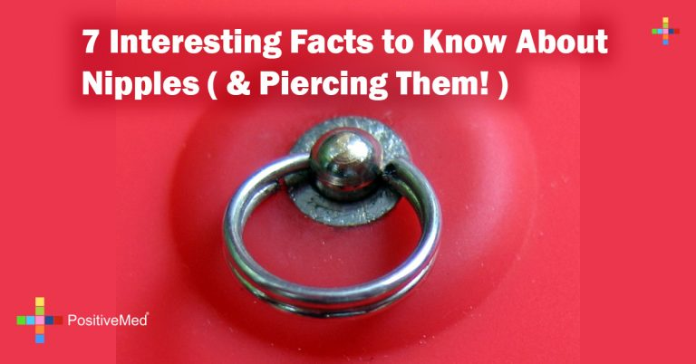 7 Interesting Facts to Know About Nipples ( & Piercing Them! )