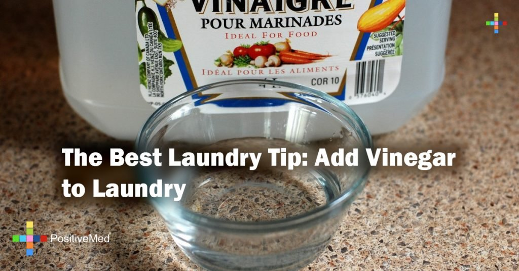 The Best Laundry Tip: Add Vinegar to Laundry