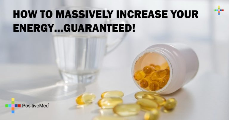 HOW TO MASSIVELY INCREASE YOUR ENERGY…GUARANTEED!