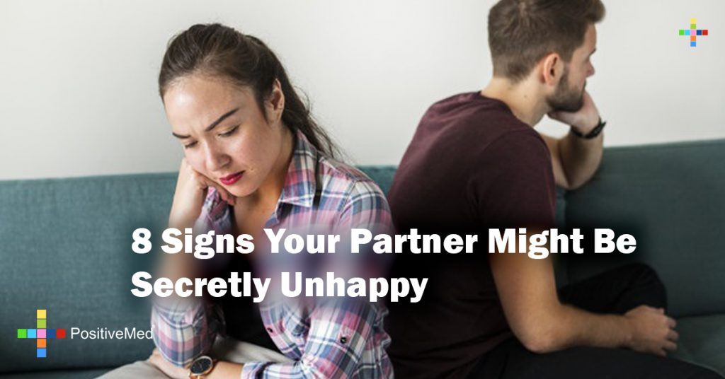 8 Signs Your Partner Might Be Secretly Unhappy