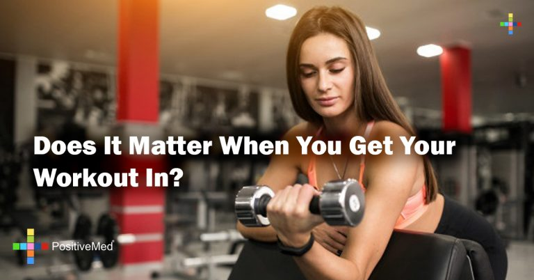 Does It Matter When You Get Your Workout In?