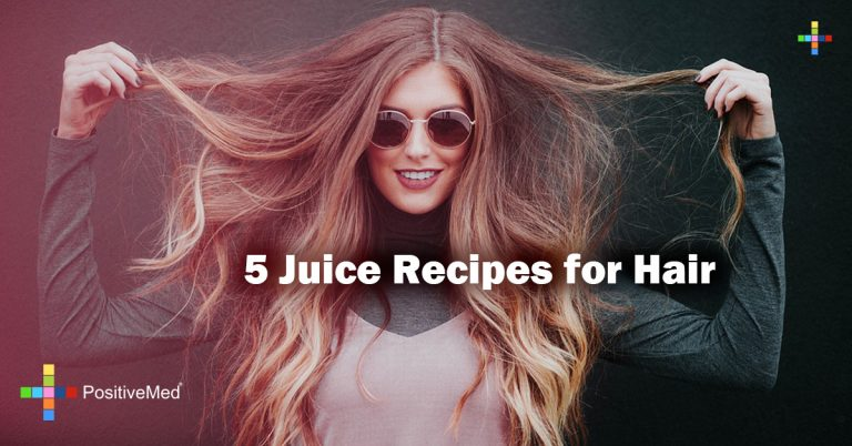 5 Juice Recipes for Hair