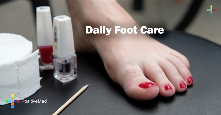 Daily Foot Care