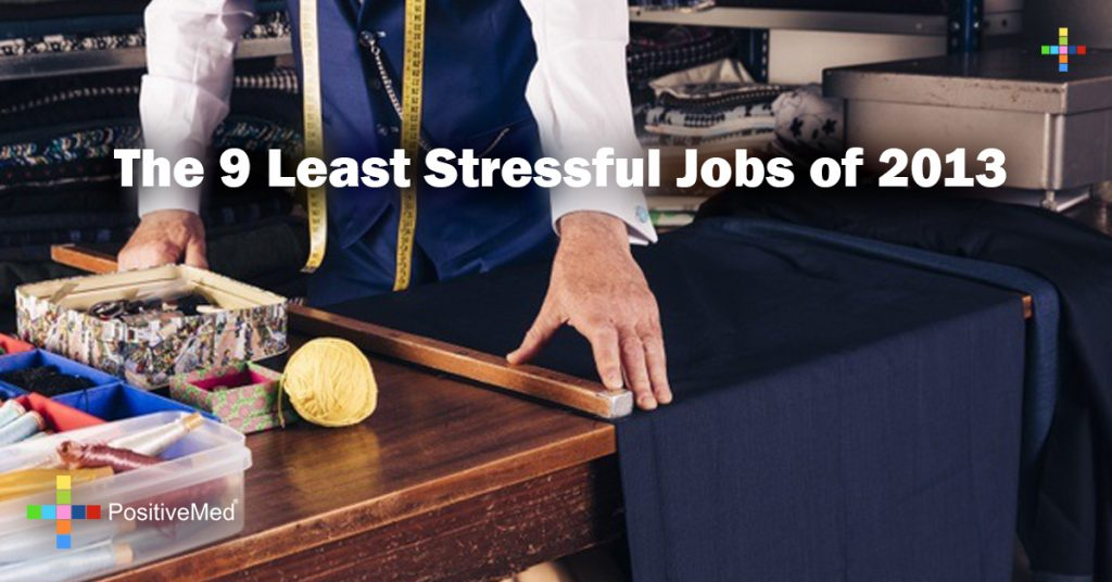 The 9 Least Stressful Jobs of 2013