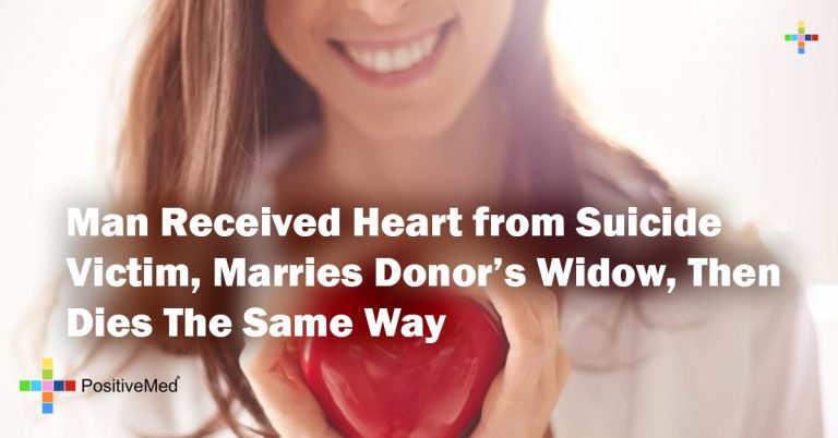 Man Received Heart from Suicide Victim, Marries Donor's Widow, Then Dies The Same Way