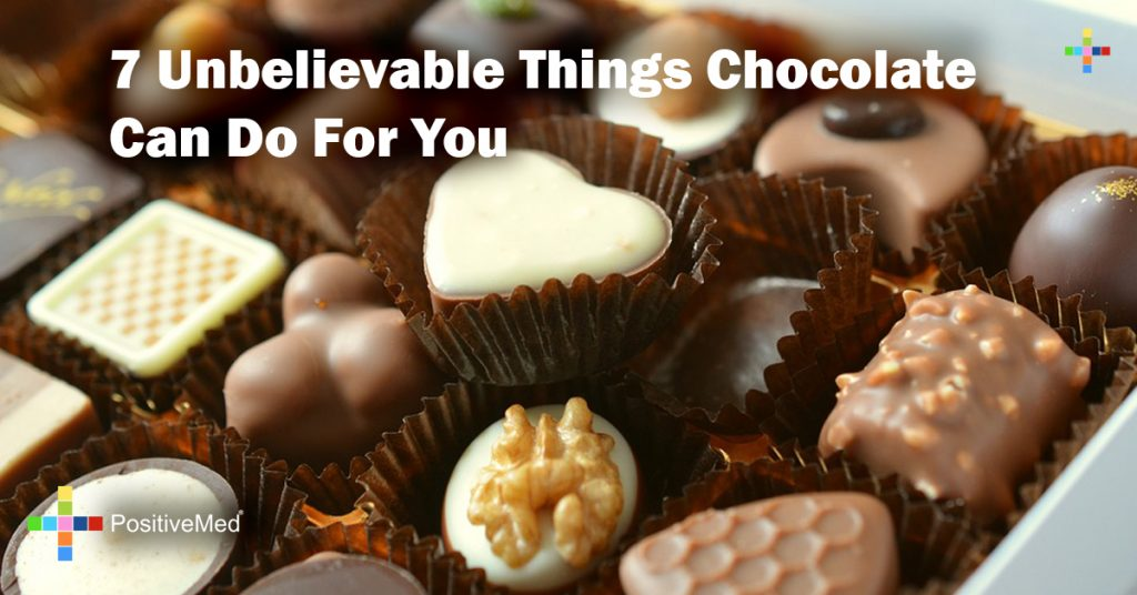 7 Unbelievable Things Chocolate Can Do For You