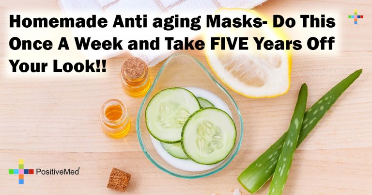 Homemade Anti aging Masks- Do This Once A Week and Take FIVE Years Off Your Look!!