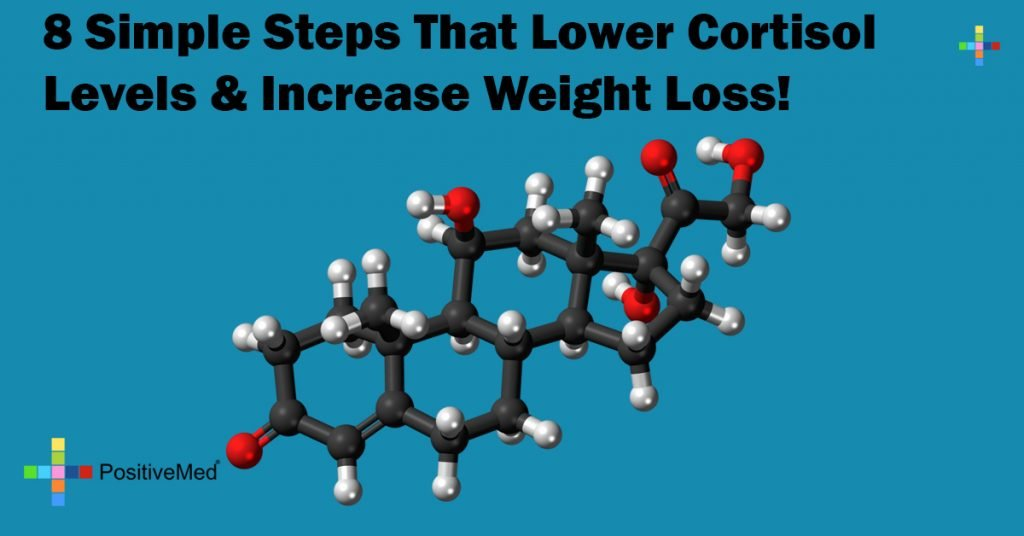 8 Simple Steps That Lower Cortisol Levels & Increase Weight Loss!