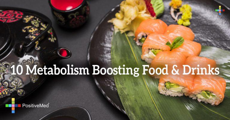 10 Metabolism Boosting Food & Drinks