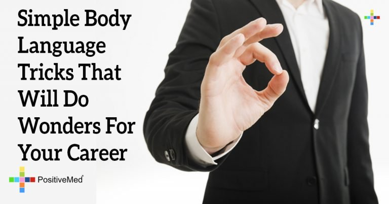 Simple Body Language Tricks That Will Do Wonders For Your Career
