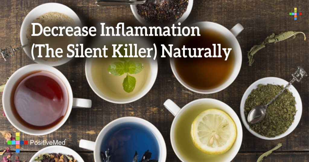 Decrease Inflammation (The Silent Killer) Naturally
