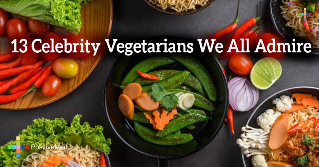 13 Celebrity Vegetarians We All Admire
