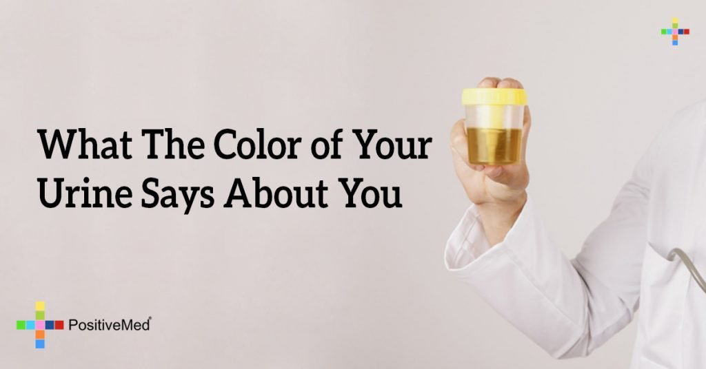 What The Color of Your Urine Says About You