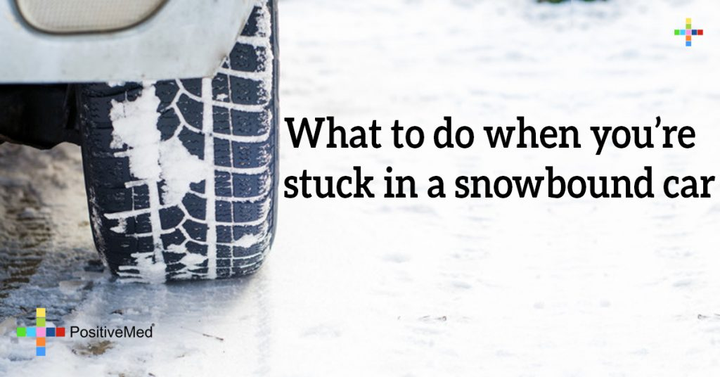 What to do when you're stuck in a snowbound car