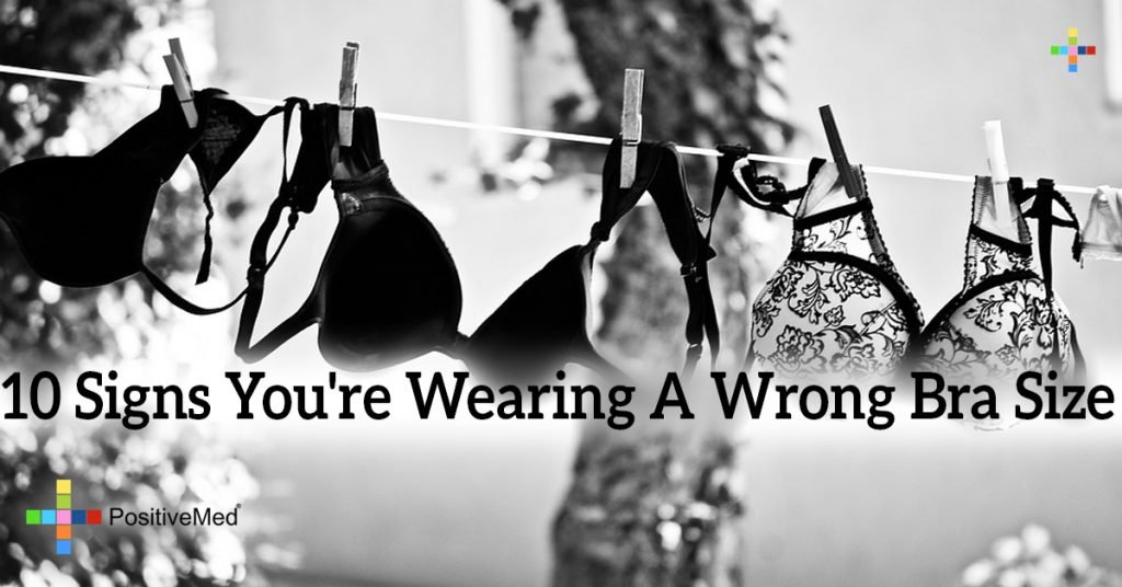 10 Signs You're Wearing A Wrong Bra Size