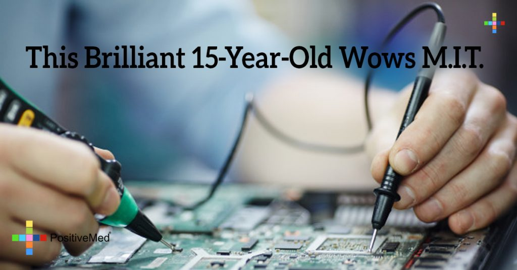 This Brilliant 15-Year-Old Wows M.I.T.