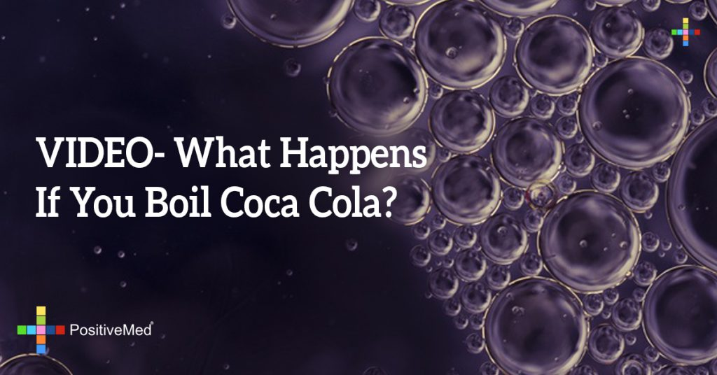 VIDEO- What Happens If You Boil Coca Cola?