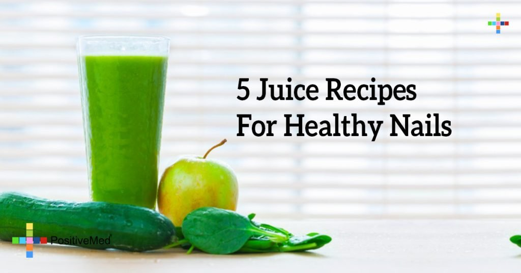 5 Juice Recipes For Healthy Nails