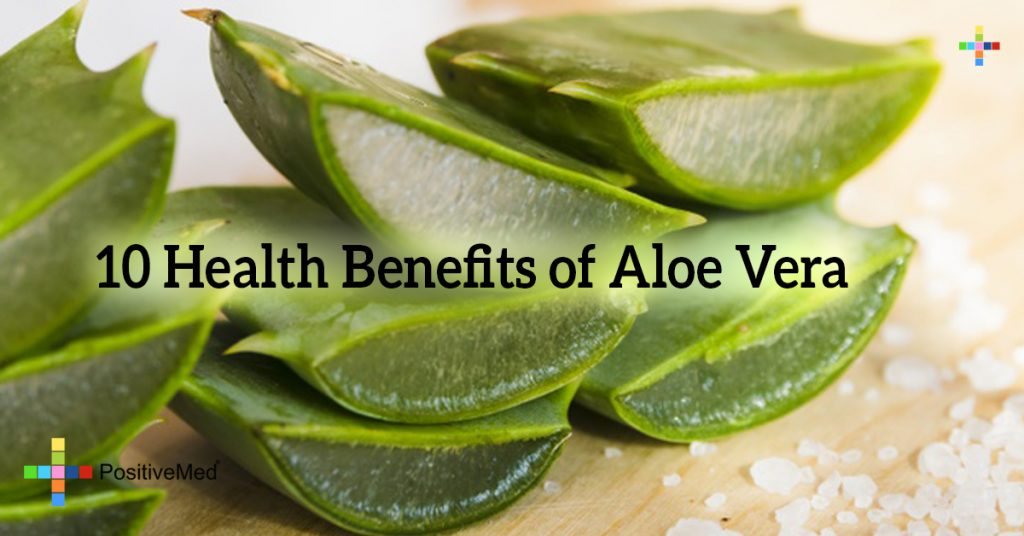 10 Health Benefits of Aloe Vera