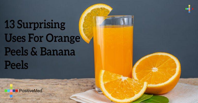 13 Surprising Uses For Orange Peels & Banana Peels