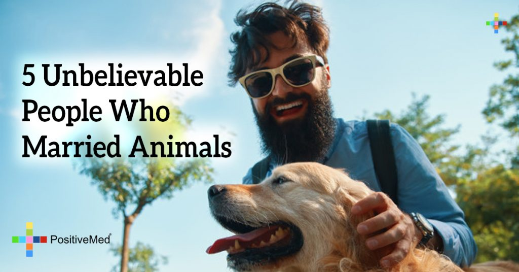 5 Unbelievable People Who Married Animals