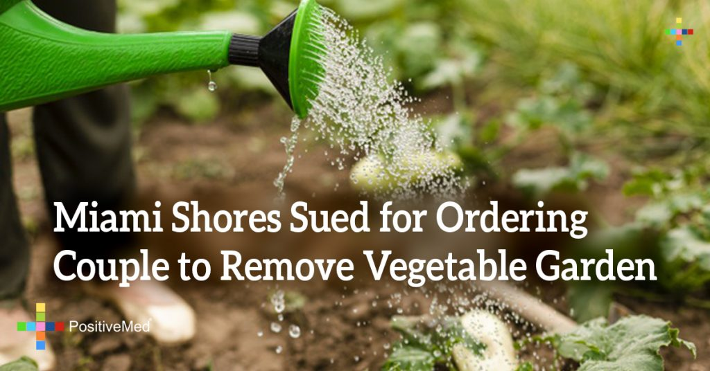 Miami Shores Sued for Ordering Couple to Remove Vegetable Garden