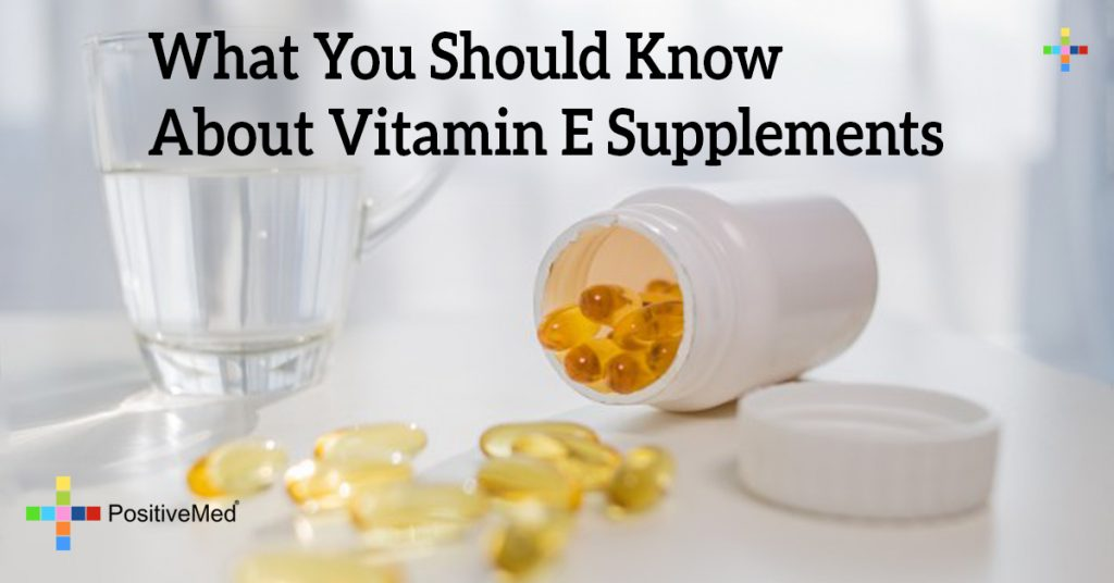 What You Should Know About Vitamin E Supplements