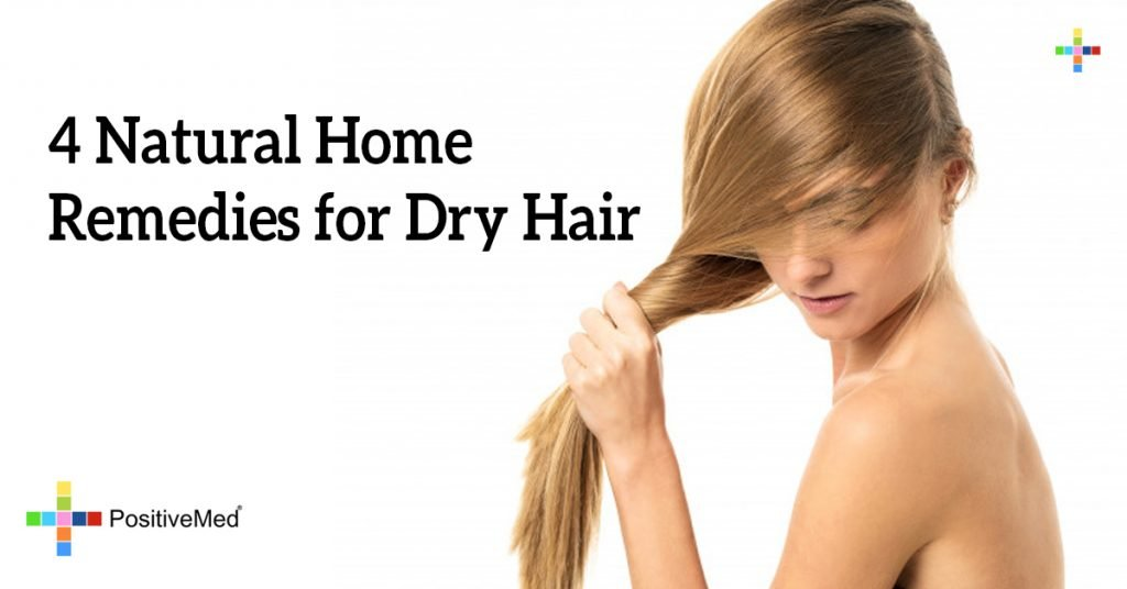 4 Natural Home Remedies for Dry Hair