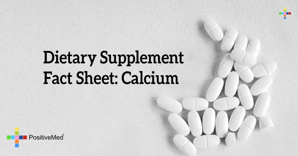 Dietary Supplement Fact Sheet: Calcium