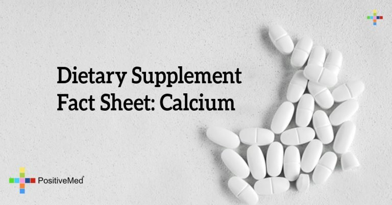 Dietary Supplement Fact Sheet: Calcium