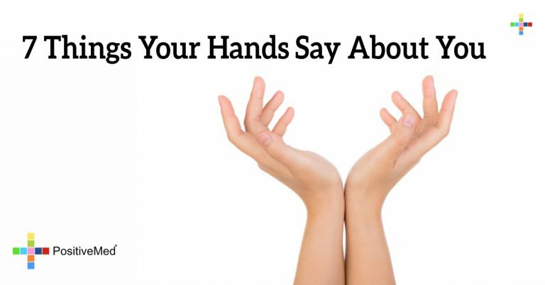 7 Things Your Hands Say About You