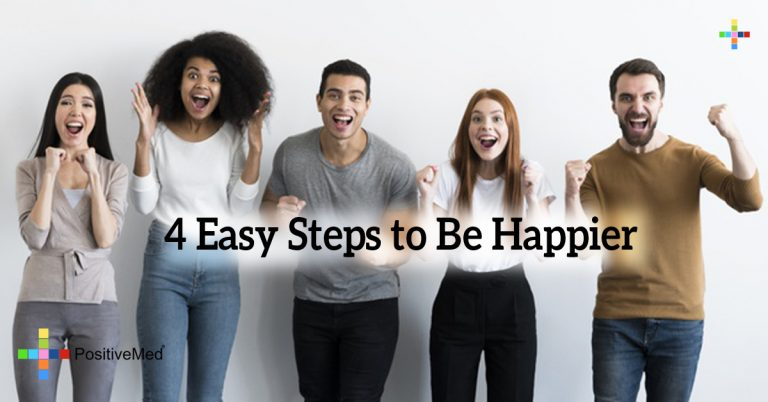 4 Easy Steps to Be Happier