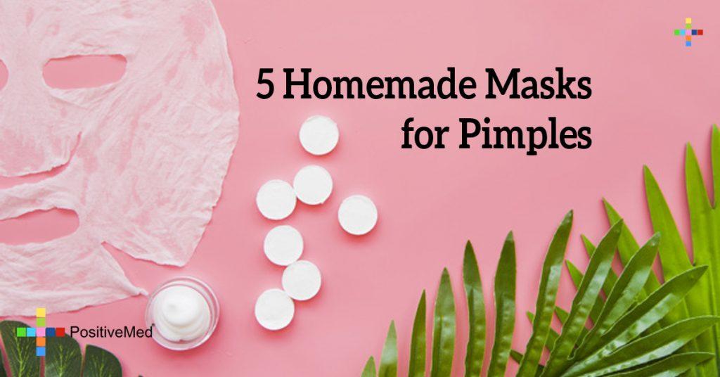 5 Homemade Masks for Pimples
