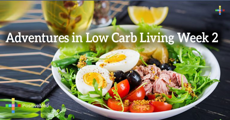 Adventures in Low Carb Living Week 2