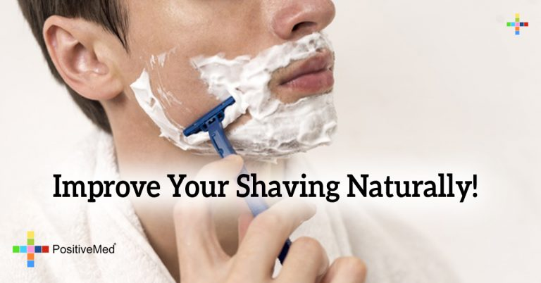 Improve Your Shaving Naturally!