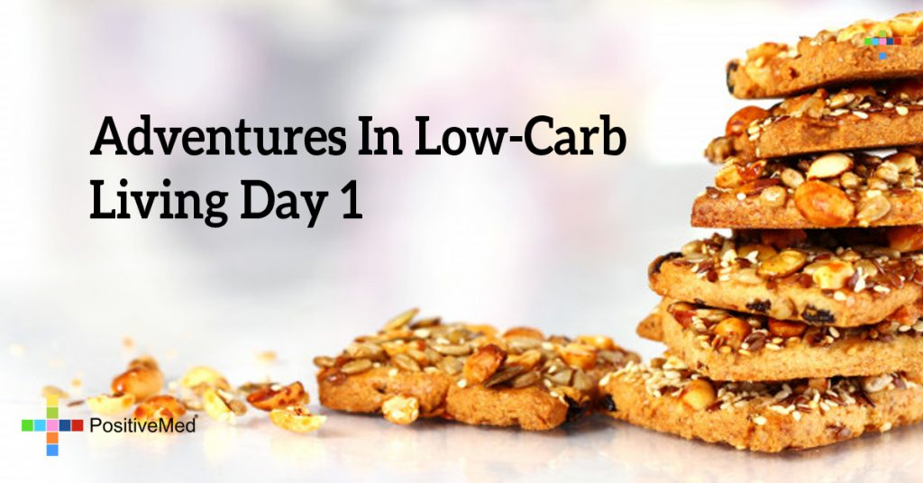 Adventures in Low-Carb Living Day 1