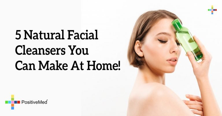 5 Natural Facial Cleansers You Can Make At Home!