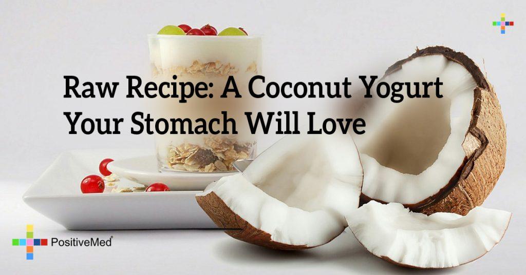 Raw Recipe: A Coconut Yogurt Your Stomach Will Love