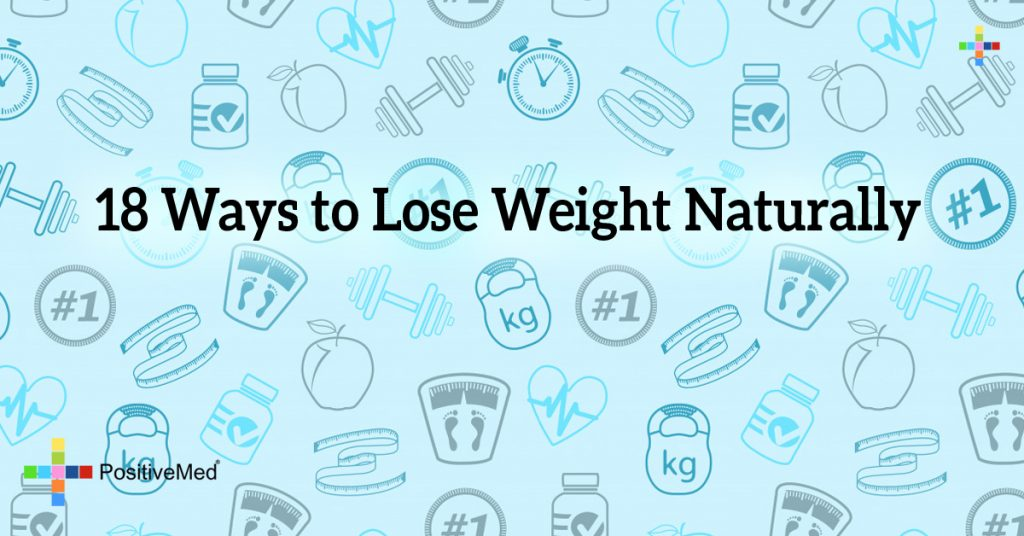18 Ways to Lose Weight Naturally