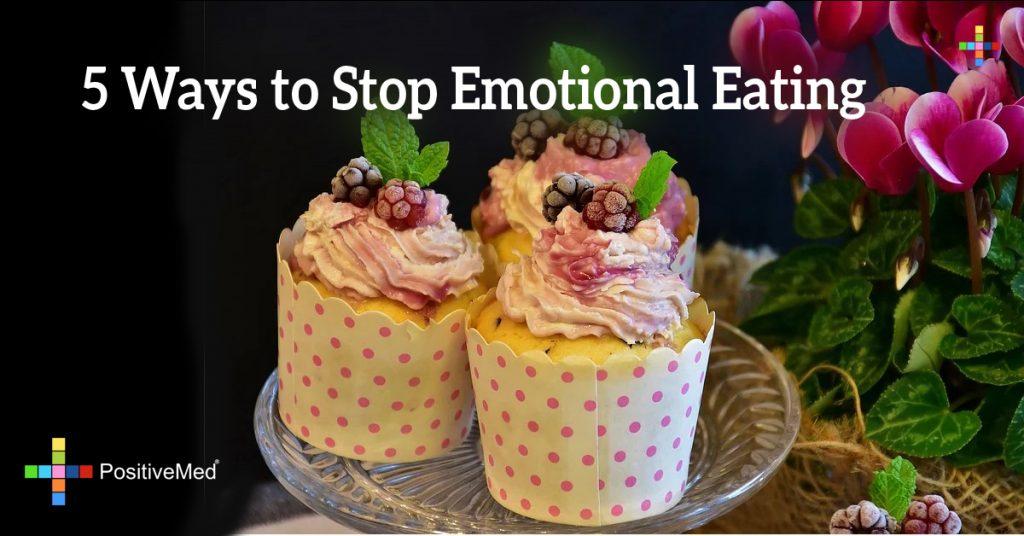 5 Ways to Stop Emotional Eating