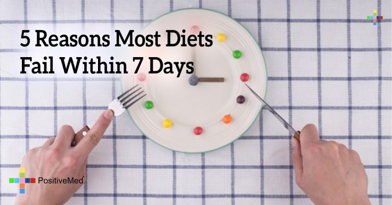 5 Reasons Most Diets Fail Within 7 Days