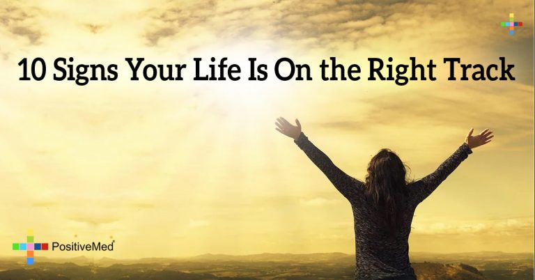 10 Signs Your Life is on the Right Track