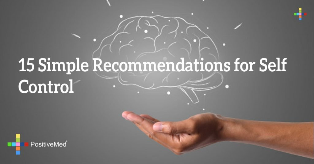 15 Simple Recommendations for Self Control
