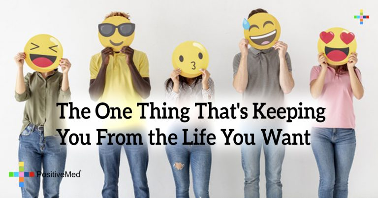 The One Thing That's Keeping You From the Life You Want