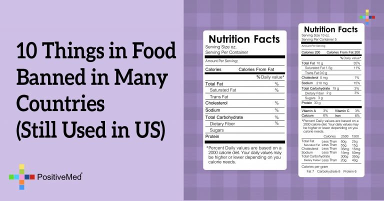 10 Things in Food Banned in Many Countries (Still Used in US)