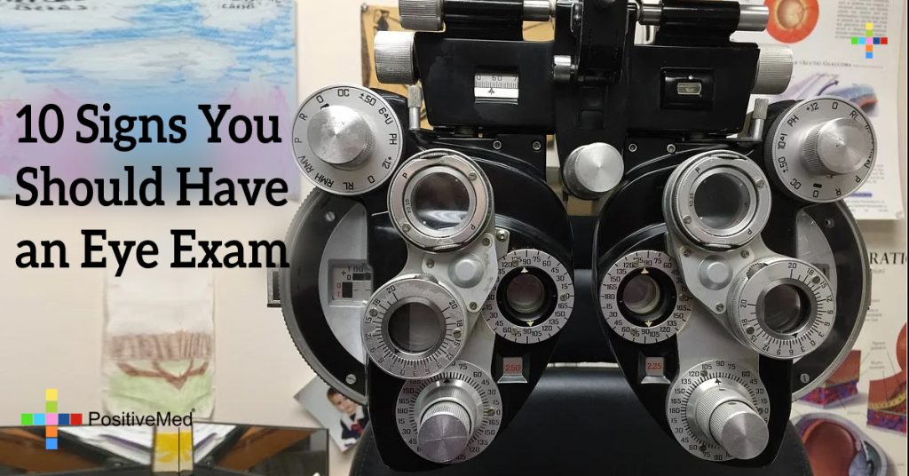 10 Signs You Should Have an Eye Exam