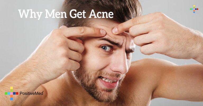 Why Men Get Acne